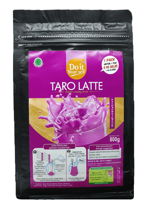 doityourself Taro Latte